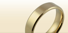 Men's Plain Wedding Rings