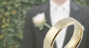 Men's Plain Wedding Rings