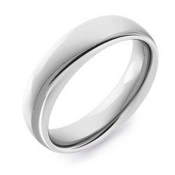Classic Court Plain | White Gold, Palladium, Platinum Wedding Rings