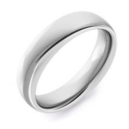Classic Court Plain   White Gold, Palladium, Platinum Wedding Rings