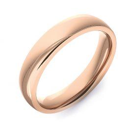 Modern Court Plain | Rose Gold Wedding Rings