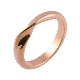 Classic Mobius Twist Shape | Rose Gold Wedding Rings