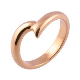 Wave Shaped | Rose Gold Wedding Rings