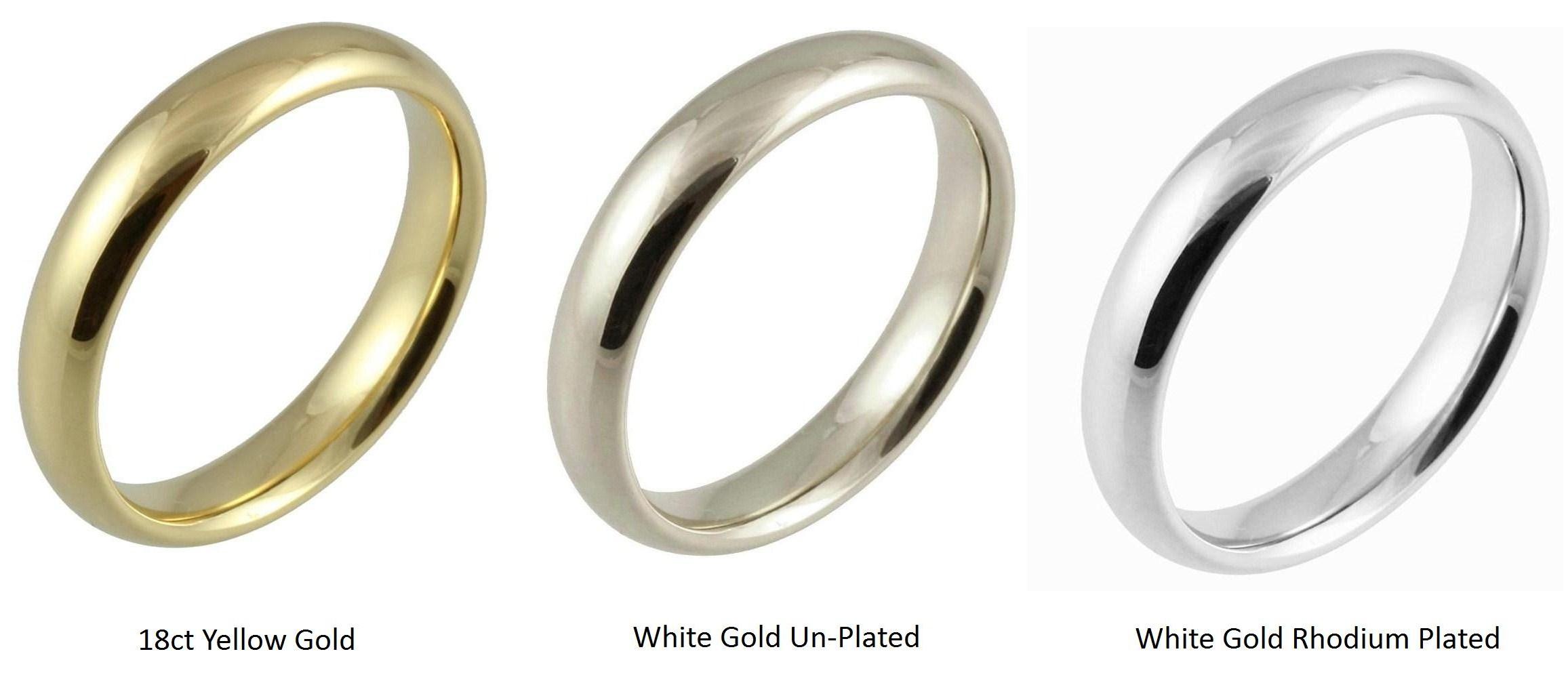 Unique Platinum Wedding Rings Vs White Gold