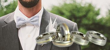 Men's Metal Wedding Rings