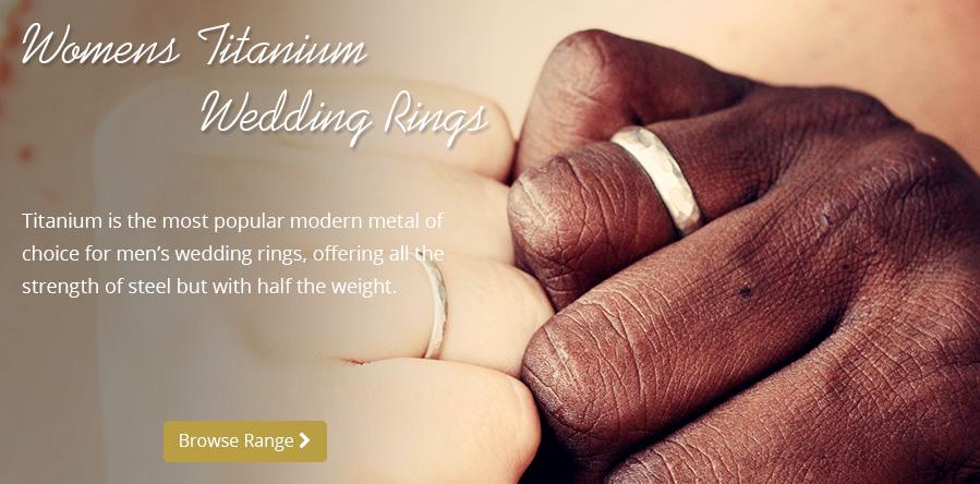 Men's Titanium Wedding Bands