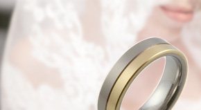 Women's Two Tone Wedding Rings