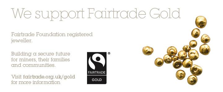 Fair Trade Gold Banner
