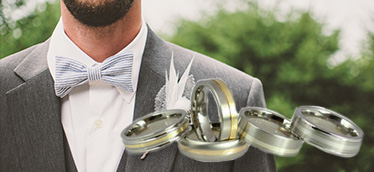 Men's Metal Wedding Rings