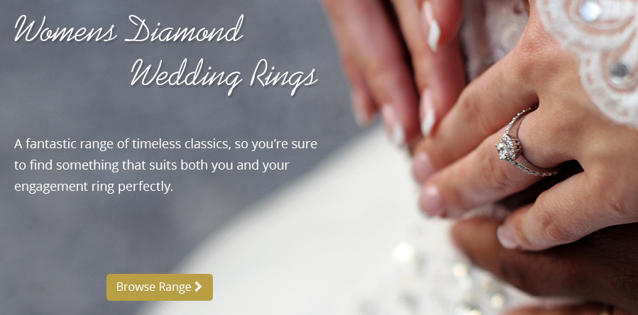 Women's Diamond Wedding Bands